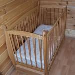 Детская кроватка бук (1)