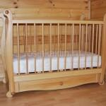 Детская кроватка бук (3)