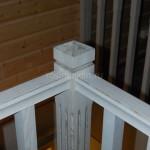 Лестница дуб белёный патина (4)