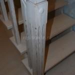 Лестница дуб белёный патина (6)