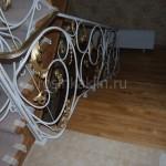 лестница дуб с ковкой (1)
